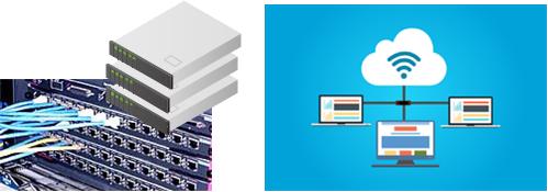 株式会社アイティーシーの勤怠管理システムはクライアント・サーバ型とクラウド型から選択できます。